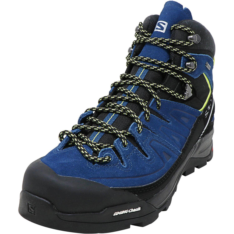 Salomon Men/'s X Alp Mid Ltr Gtx High-Top Leather Hiking Boot