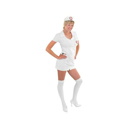 Adult Double Zip Nurse Costume - Halloween Ii Nurse