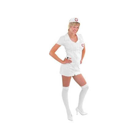 Adult Double Zip Nurse Costume](Adult Nurse Outfit)
