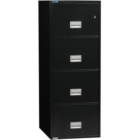 Phoenix Vertical 25 Inch 4 Drawer Legal Fireproof File Cabinet