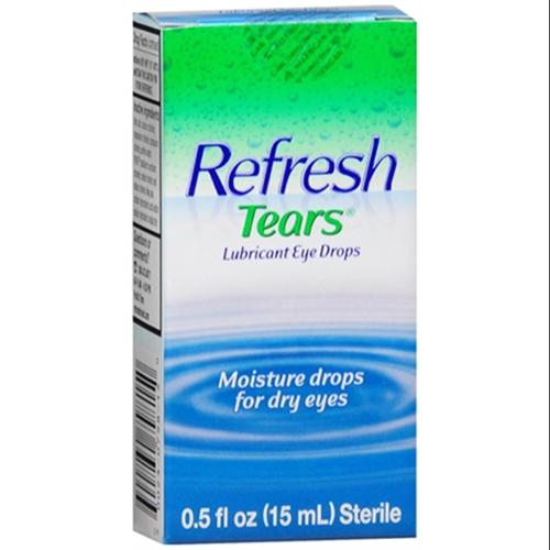 REFRESH TEARS Lubricant Eye Drops 0.50 oz (Pack of 2)