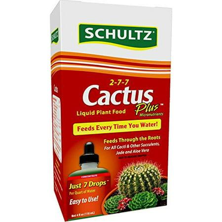 Cactus Plus Liquid Plant Food 2-7-7, 4 oz