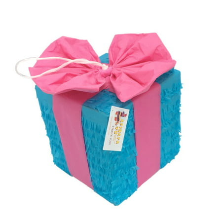 Gender Reveal Pinata Gift Box Style](Gender Reveal Boxes)