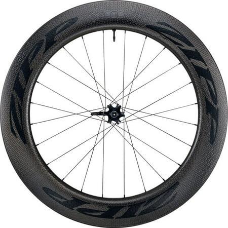 (Zipp 808 Firecrest Carbon Clincher Tubeless Disc Brake Front Wheel 700c 24)