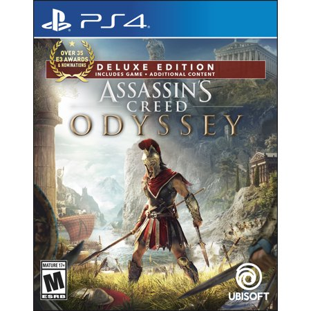 Assassin's Creed Odyssey Deluxe Edition, Ubisoft, PlayStation 4, 887256036102