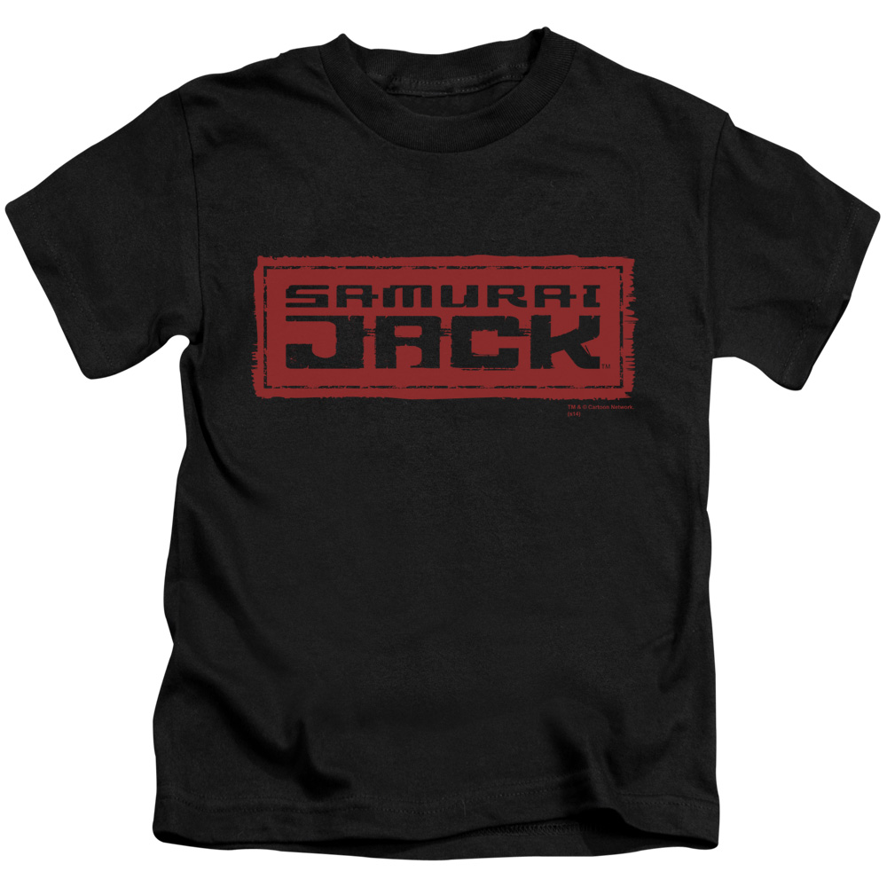 Samurai Jack Red Logo Little Boys Shirt