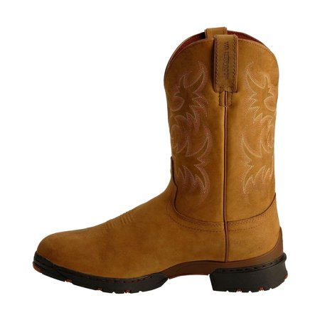 9a90204794c Justin - Justin Men's George Strait 3.1 Waterproof Cowboy Boot Round ...