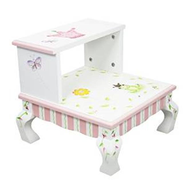 Fantasy Fields W-7470A Princess And Frog Step Stool