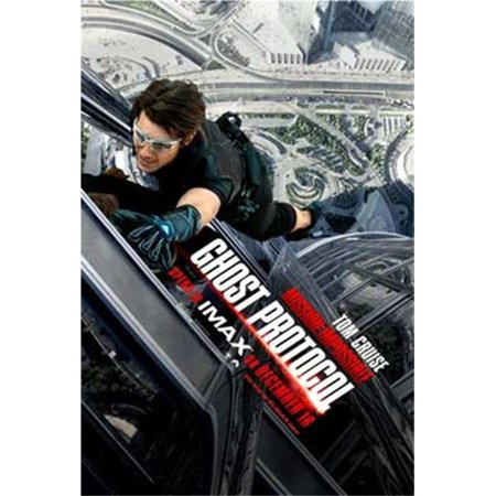 Posterazzi MOVCB85964 Mission Impossible - Ghost Protocol Movie Poster - 11 x 17 in. - image 1 of 1