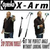 "Opteka X-ARM Camera Extender Handheld Monopod (extends up to 37"") For Nikon Coolpix L22 S1000pj S4000 S570 S60 S70 S630 S3000 S8000 S6000 S8000 L20 L22 S630 Perfect For Self Portraits"