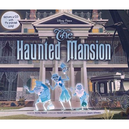 Disney Parks Presents: The Haunted Mansion [With Audio CD] (Hardcover)