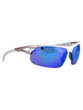 c29f23151b Product Image Rawlings 28 SPT Unisex Adult Sport Sunglasses Shades Wrap  Blue Mirror 10220224