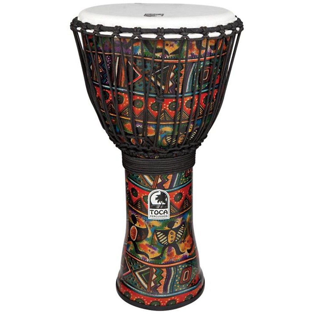 Toca Freestyle II Rope-Tuned Djembe 12 in. African Dance by Toca