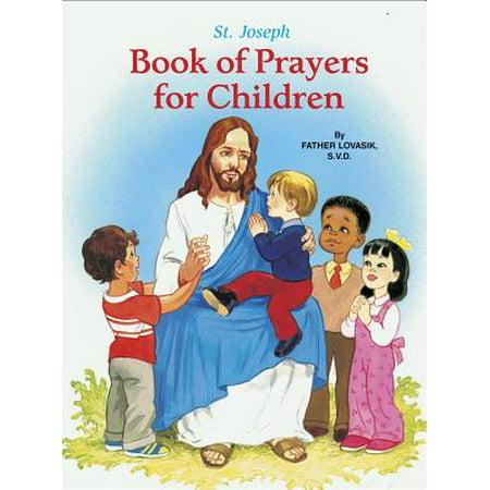 Saint Joseph Book of Prayers for Children - Halloween Prayer For Children