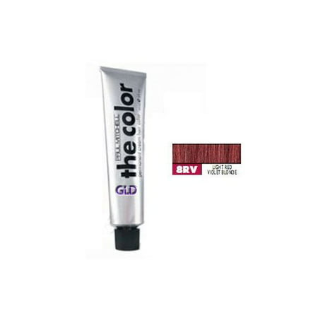 Blonde Violet (Paul Mitchell The Color 8RV Light Red Violet Blonde Permanent Cream Hair Color 3)