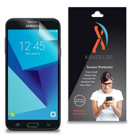 Xshields  High Definition  Hd   Screen Protectors For Samsung Galaxy J7 Sky Pro  Maximum Clarity  Super Easy Installation  4 Pack  Lifetime Warranty  Advanced Touchscreen Accuracy