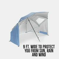 Sport-Brella XL Umbrella Portable Canopy, Steel Blue