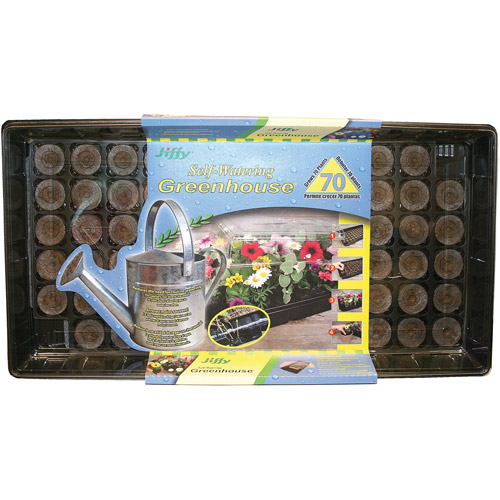 Jiffy 70-Cell Self-Watering Greenhouse