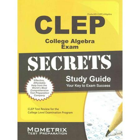 CLEP College Algebra: Study Guide & Test Prep - Practice ...
