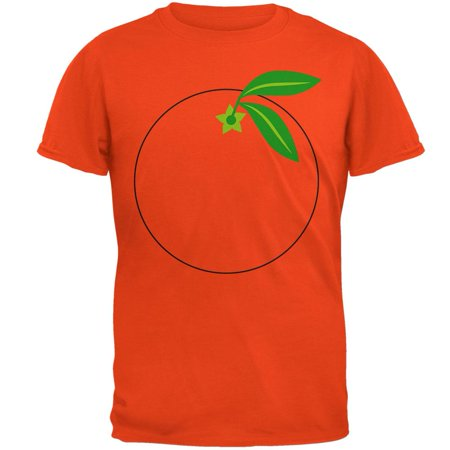 Halloween Fruit Orange Costume Mens T Shirt - Halloween Inspired Fruit