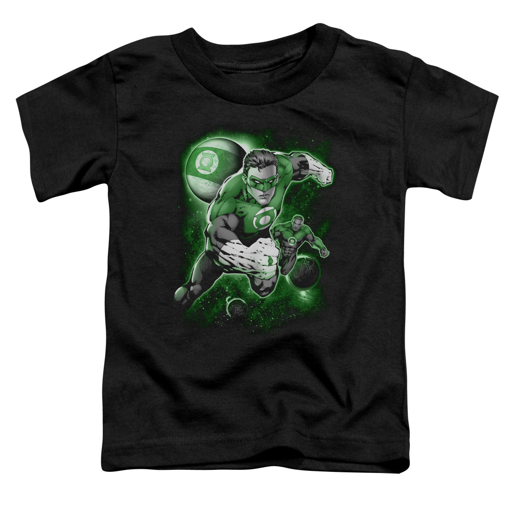 Green Lantern/Lantern Planet   S/S Toddler Tee   Black      Gl148