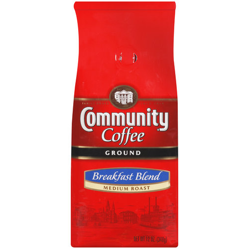 Community Coffee Medium Roast Coffee, 12 oz