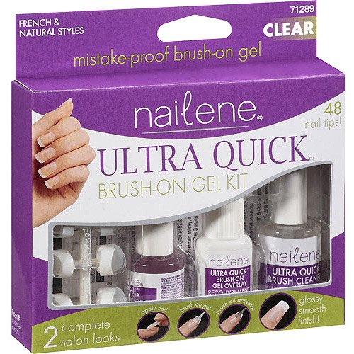 Pacific world nailene brush on gel kit 48 ea walmart solutioingenieria Gallery
