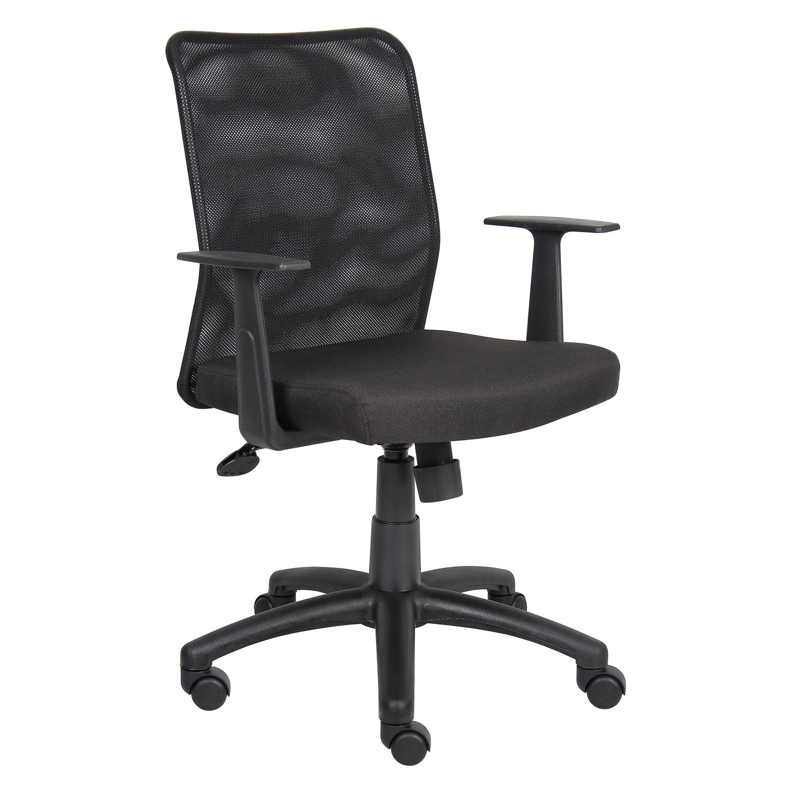 Mesh Back Office Chair with T-Arms