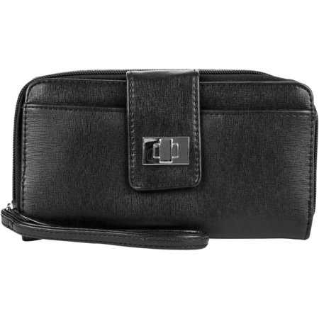 Black Silk Clutch - Women's Saffiano Bulk Clutch