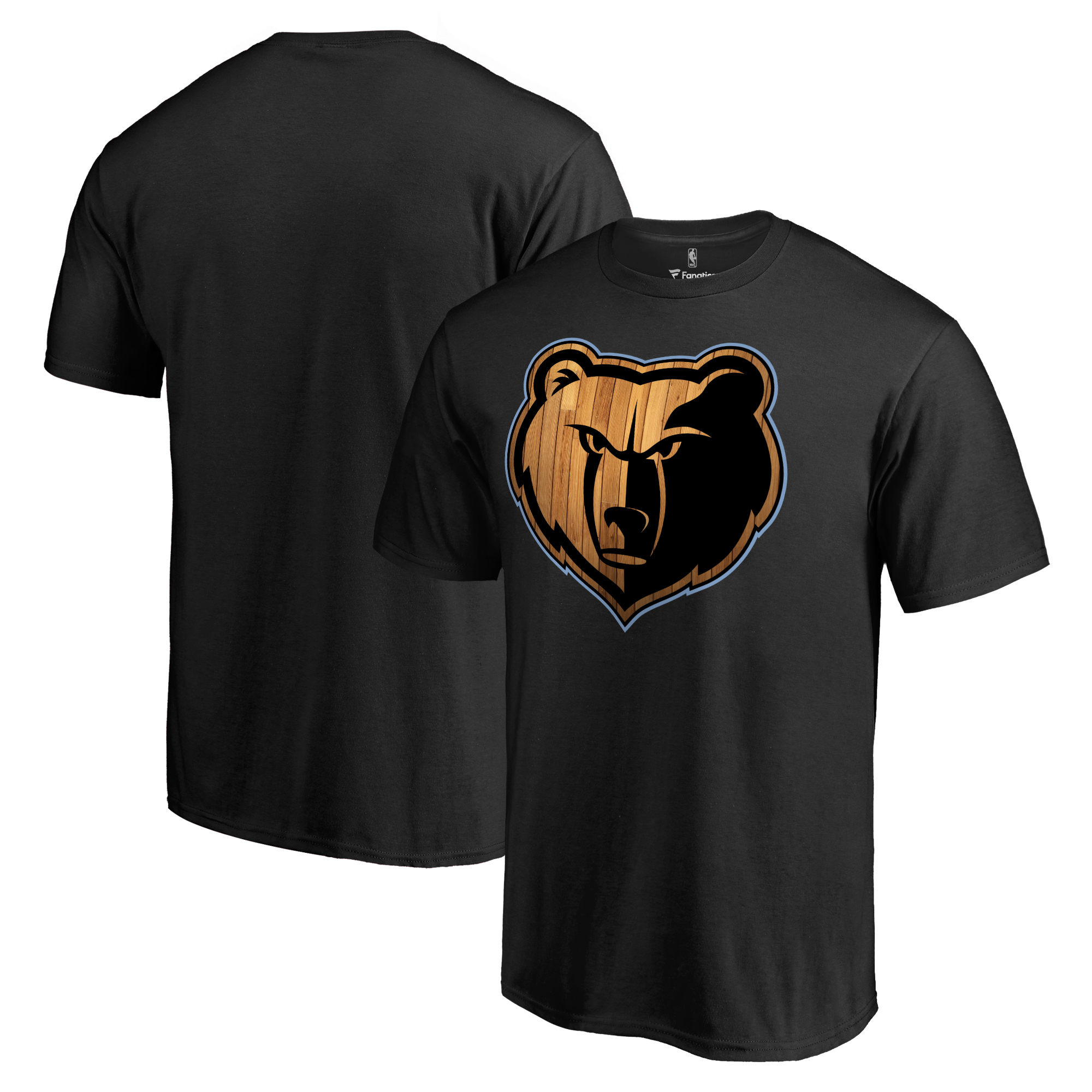 Memphis Grizzlies Hardwood T-Shirt - Black