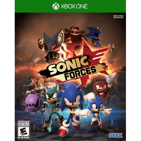 Sega Sonic Shadow (Sonic Forces (Xbox One) SEGA)