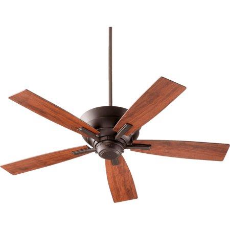 Quorum 94525 86 Mercer 52  5Bl Fan   Ob Oiled Bronze