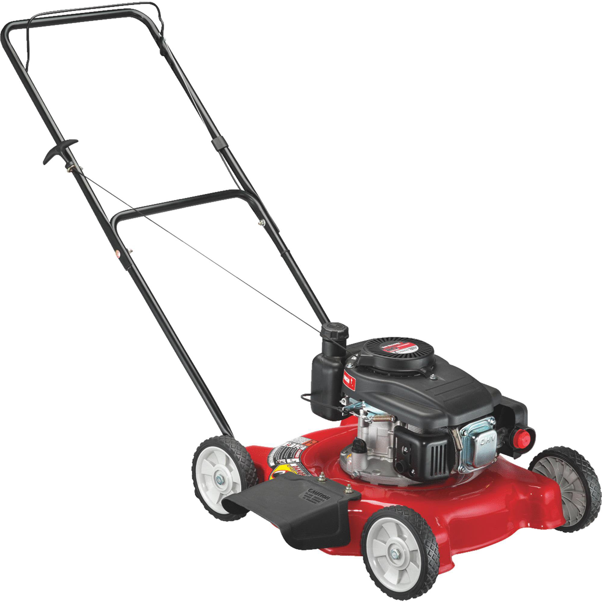 "Yard Machines 20"" Gas Push Lawn Mower with Side Discharge by Monterey Lawn and Garden"