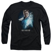 Star Trek Beyond Kirk Poster Mens Long Sleeve Shirt