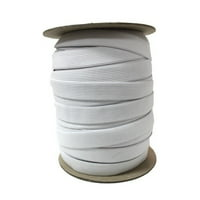 "Pellon 3/4"" Knit Elastic, 144-Yard Spool, White"