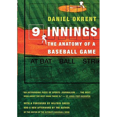 Nine Innings : The Anatomy of a Baseball Game - Anatomy Games