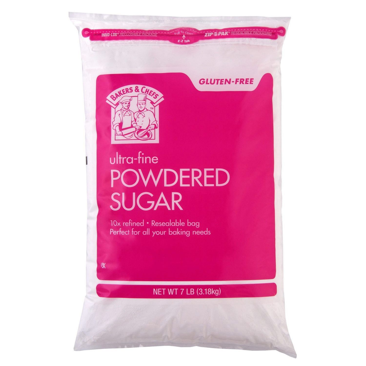 Daily Chef 10x Powdered Sugar - 7 lb. bag