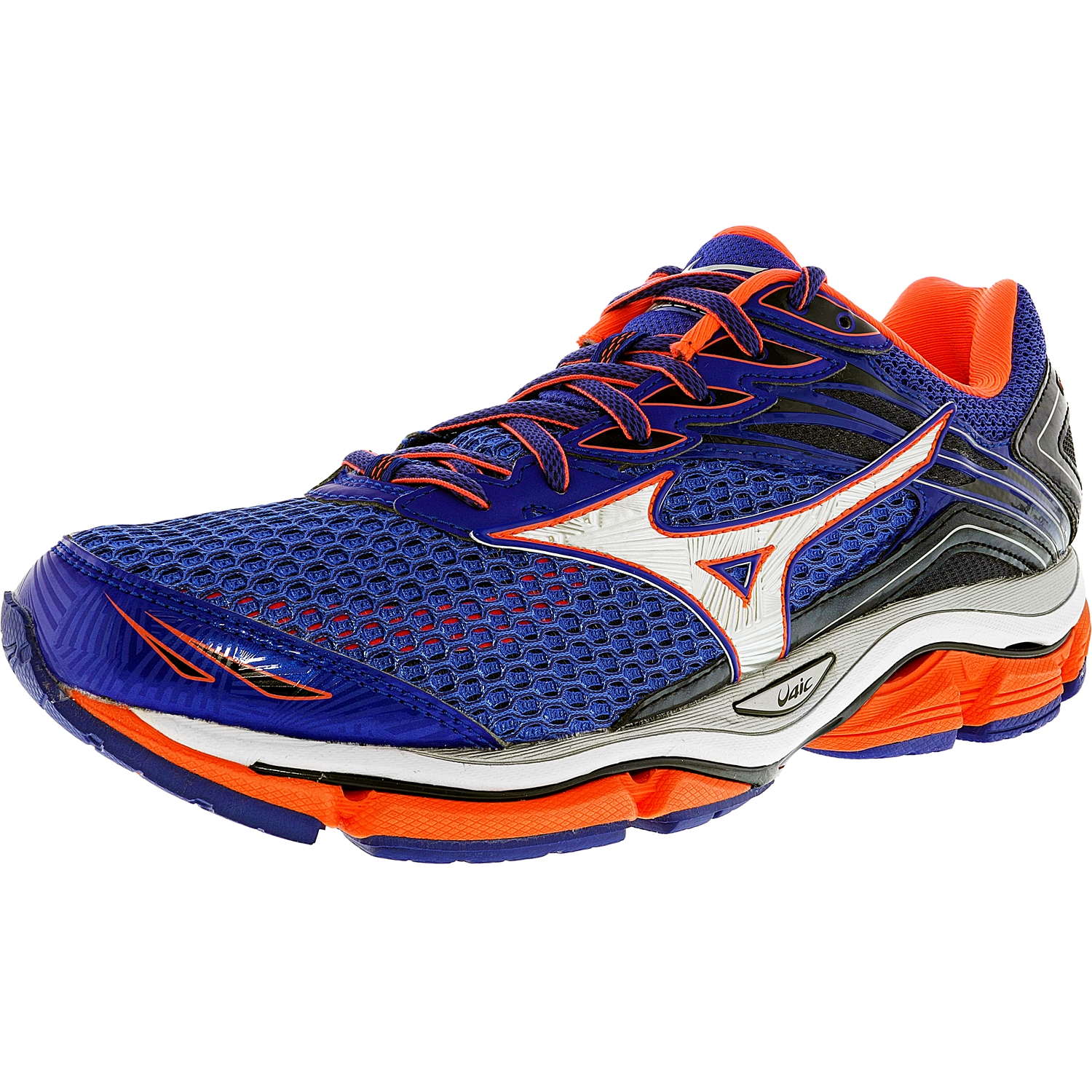 Mizuno Women's Wave Enigma 6 Blue / Grey Orange Fashion S...