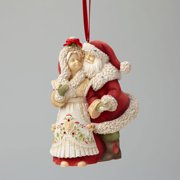 The Heart Of Christmas 4046857 Mr. and Mrs. Claus Ornament