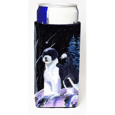 Carolines Treasures SS8399MUK Starry Night Portuguese Water Dog Michelob Ultra bottle sleeves For Slim Cans - image 1 of 1