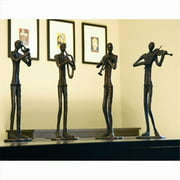 SPI Home 50246 Jazzy Quartet Set of 4