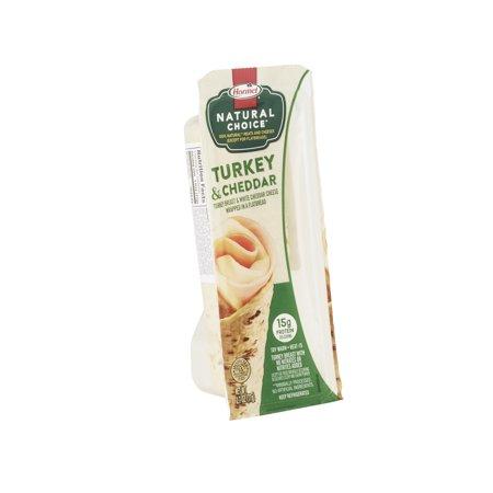 Hormel Natural Choice Turkey & Cheddar Flatbread Wrap, 2 7