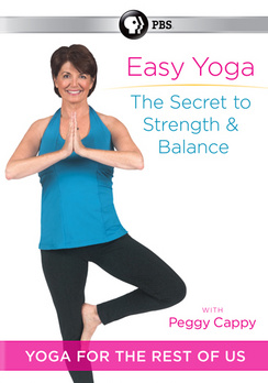 Easy Yoga: Secret to Strength & Balance with Peggy Cappy (DVD)