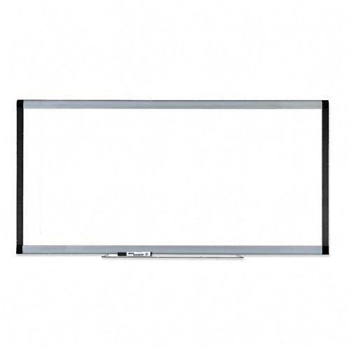 Lorell Wall Mounted Magnetic Whiteboard, 4' H x 8' W by Lorell