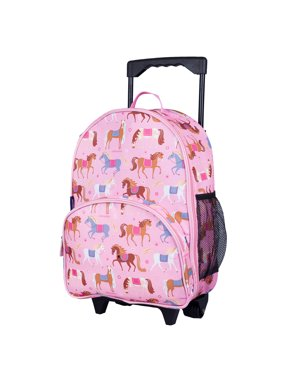 Wildkin Horses Rolling Luggage