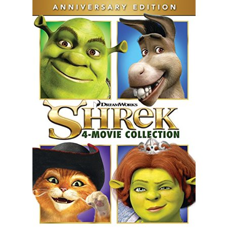 Shrek 4 Movie Collection Anniversary Edition Dvd