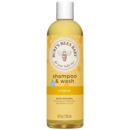 - Burt's Bees Baby Shampoo & Wash, Original Tear Free Baby Soap - 12 oz Bottle