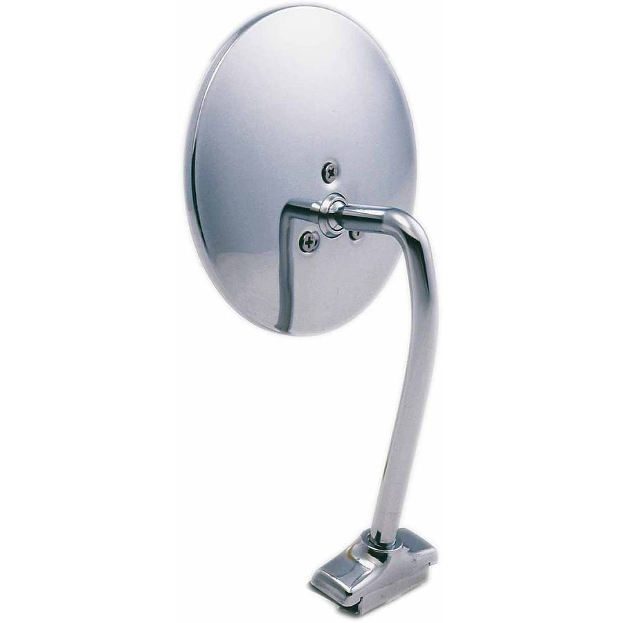 Economy 4 3//8 Fit System 1701 Classic Round Universal Mirror L//H or R//H