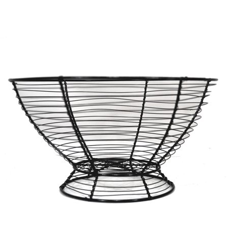Garden Oatmeal Bowl - Stella Round Table Top Wire Bowl 10in