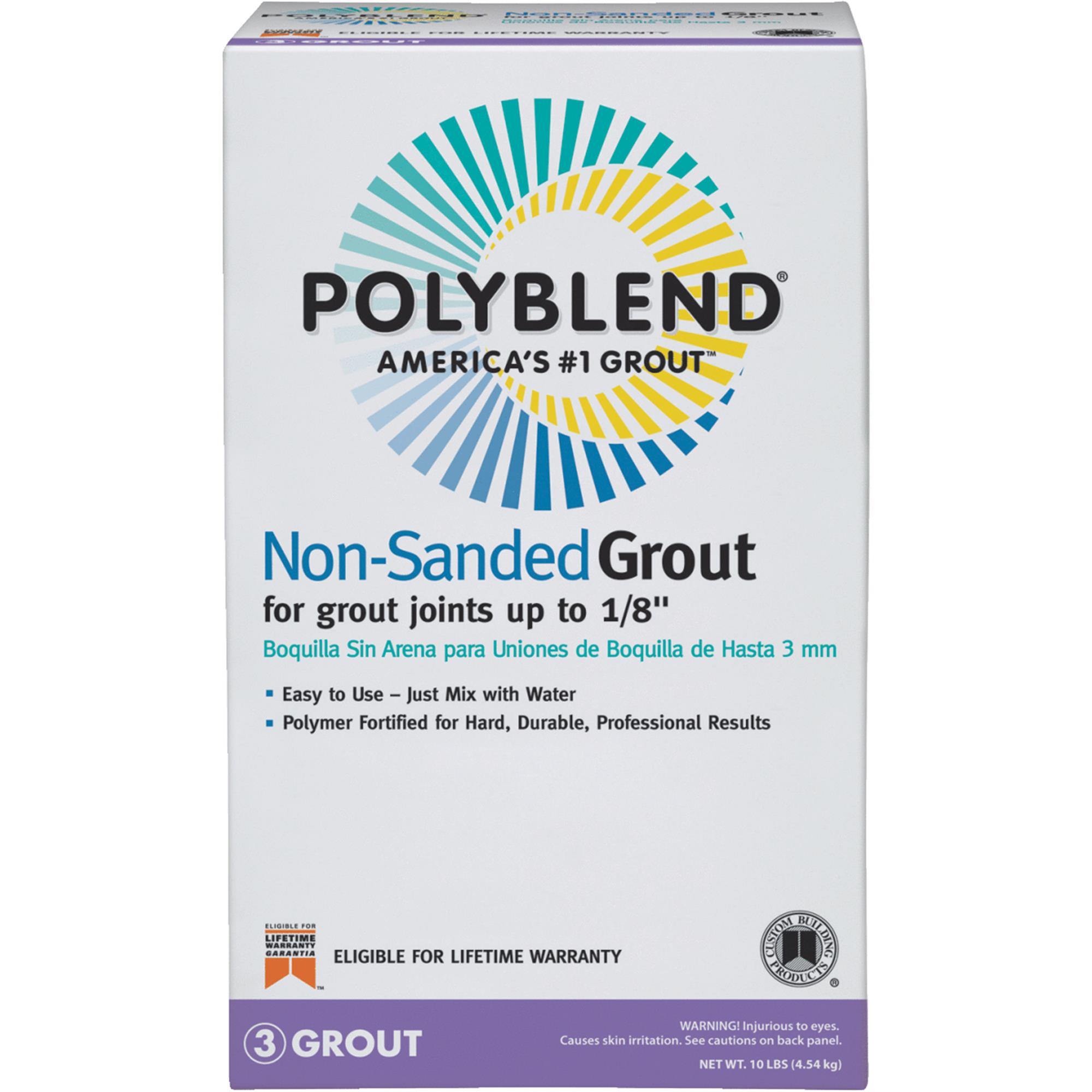 Custom Building Products Polyblend Non-Sanded Tile Grout